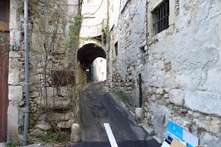 Bourg st Andéol.