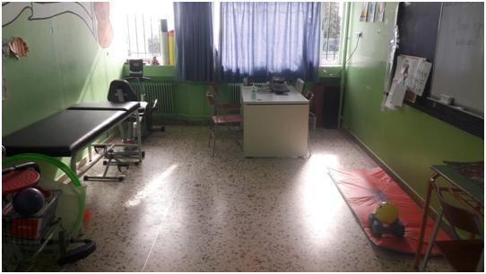 Εργαστήριο Νοσηλευτικής Φροντίδας και Φυσικοθεραπείας στο Ενιαίο Ειδικό Επαγγελματικό Γυμνάσιο Λύκειο Αργολίδας