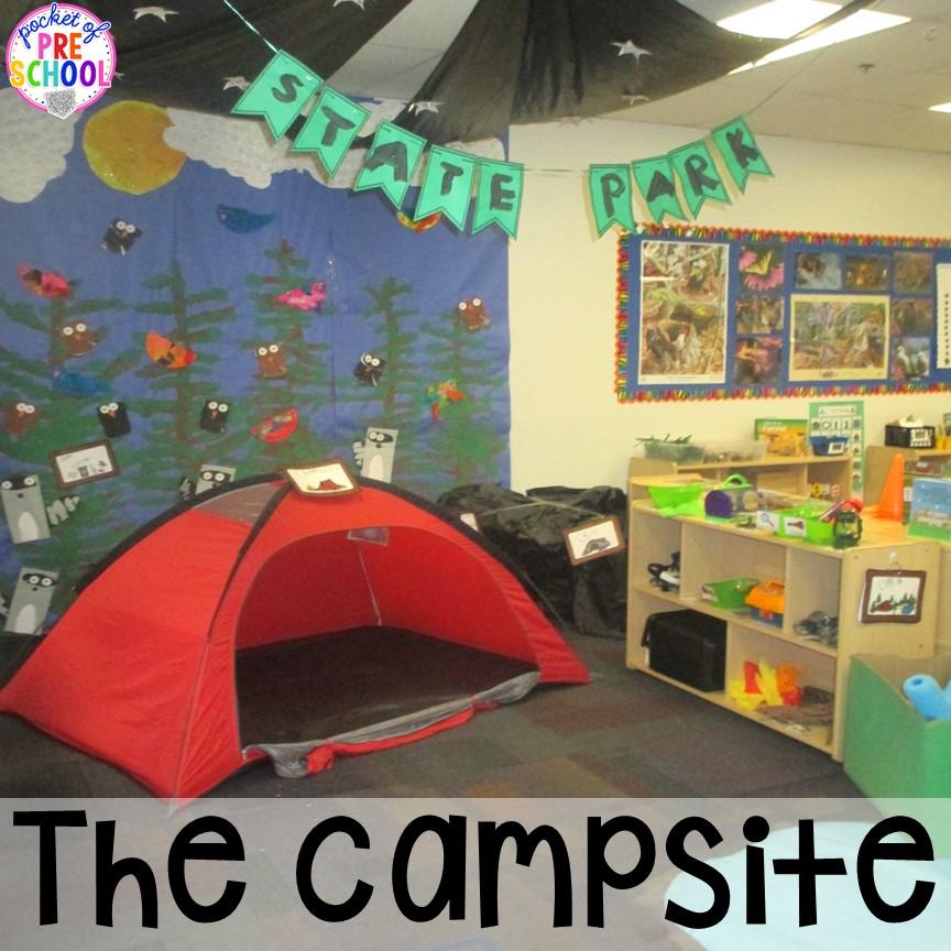 Camping Dramatic Play Camping Dramatic Play