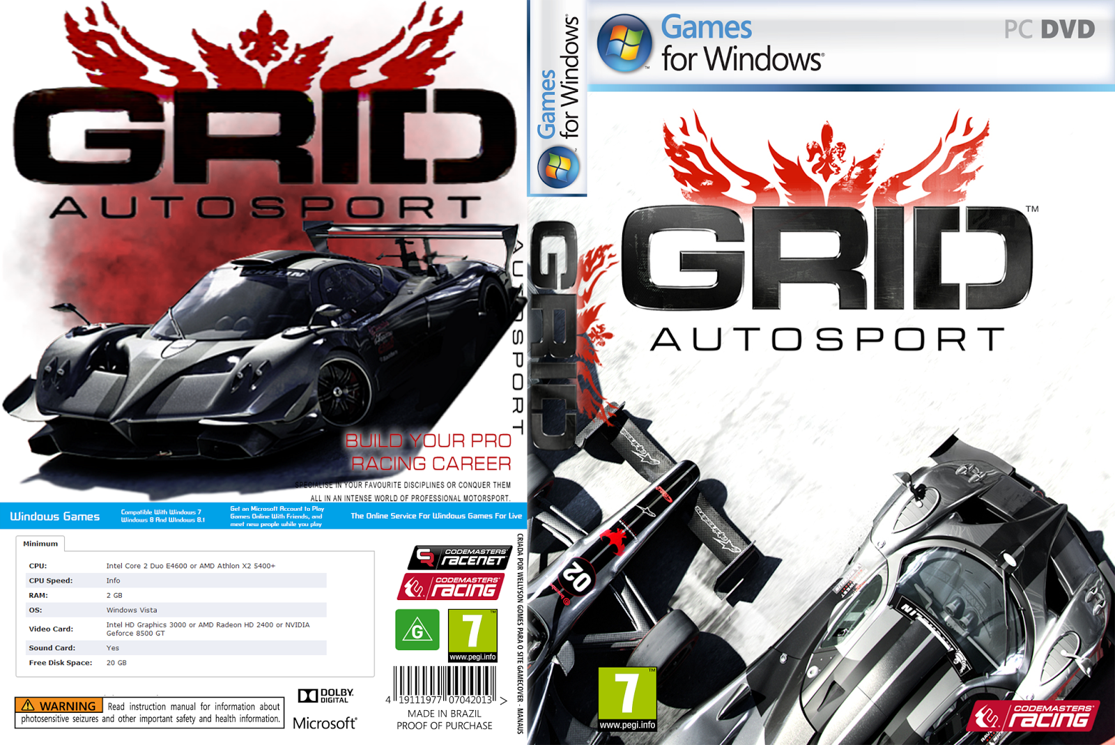 DOWNLOAD - GRID Autosport + Update v1 0 100 5260 - PC