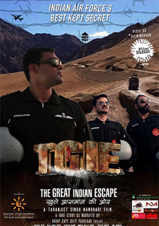 The Great Indian Escape (2019) Hindi 350MB WEB-DL 480p ESubs