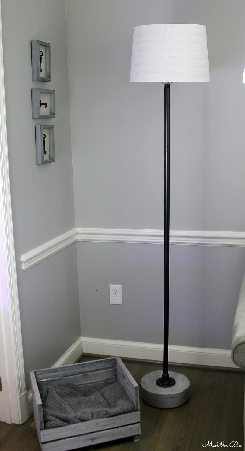 Monthly DIY Challenge- Industrial Pipe Floor Lamp | The ...