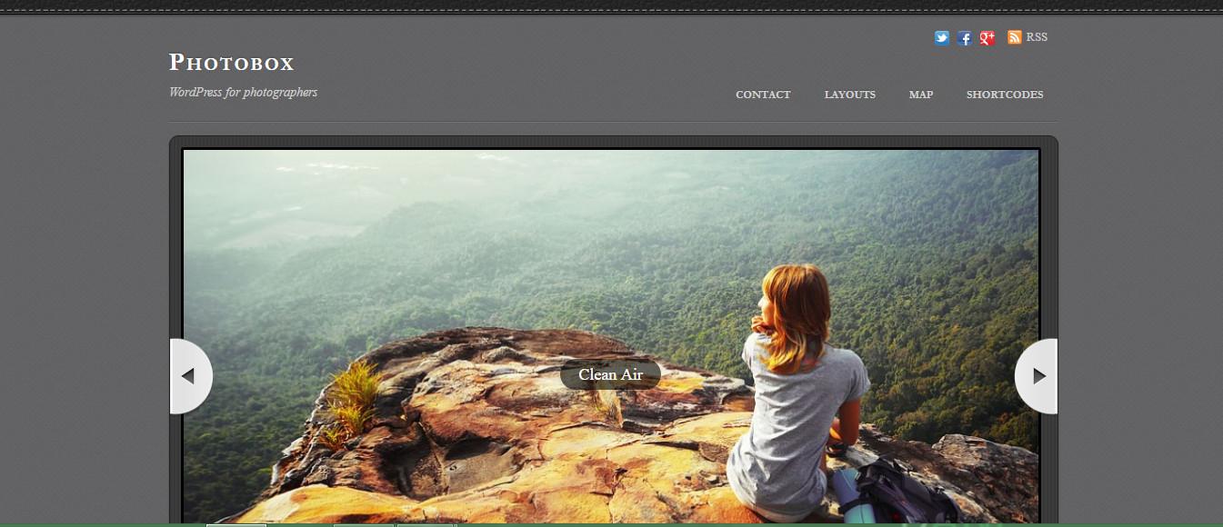 Photobox-Photography Themes