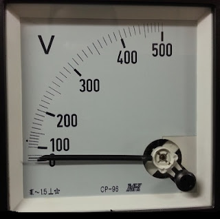 Voltmeter for check volt in repairing