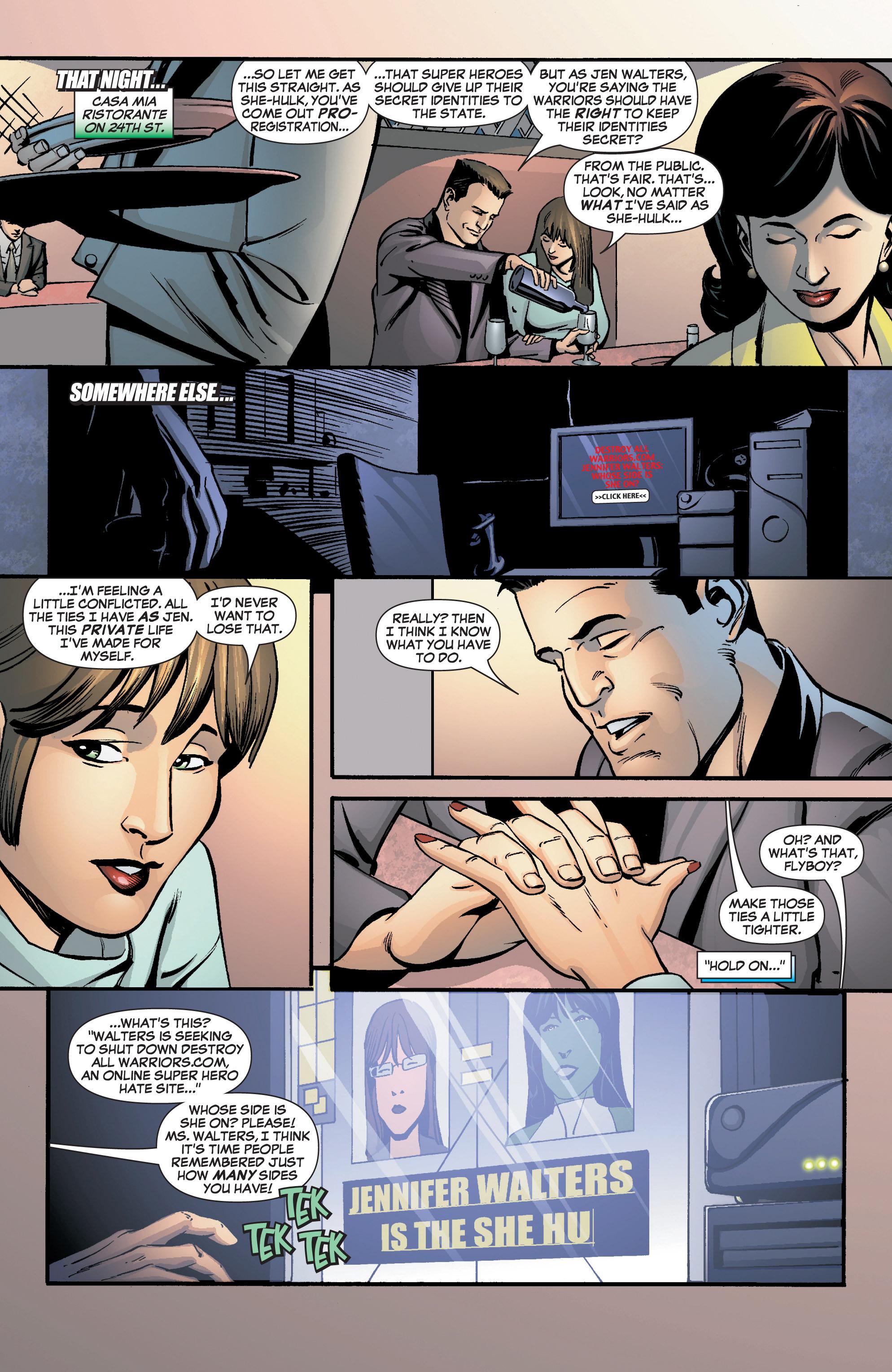 Read online She-Hulk (2005) comic -  Issue #8 - 12