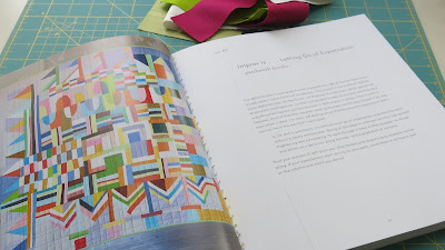 Sherri Lynn Wood's book, The Improv Handbook for Modern Quilters - Score #4 - Patchwork Doodle