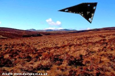 Berwyn Mountains UFO Crash, still a Mystery After 40 Years