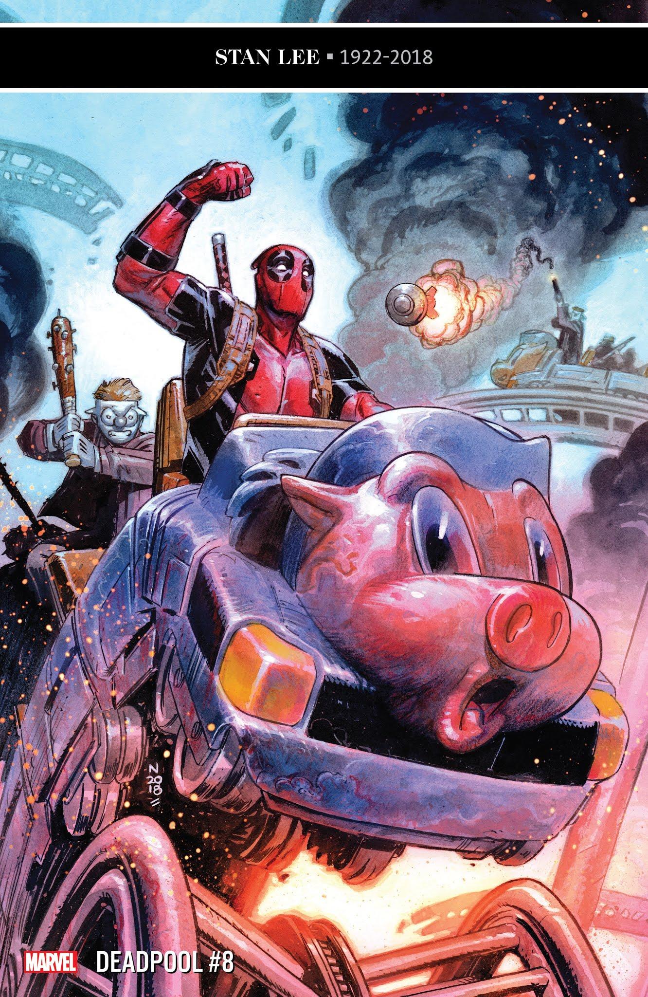 Deadpool (2018) 8 Page 1