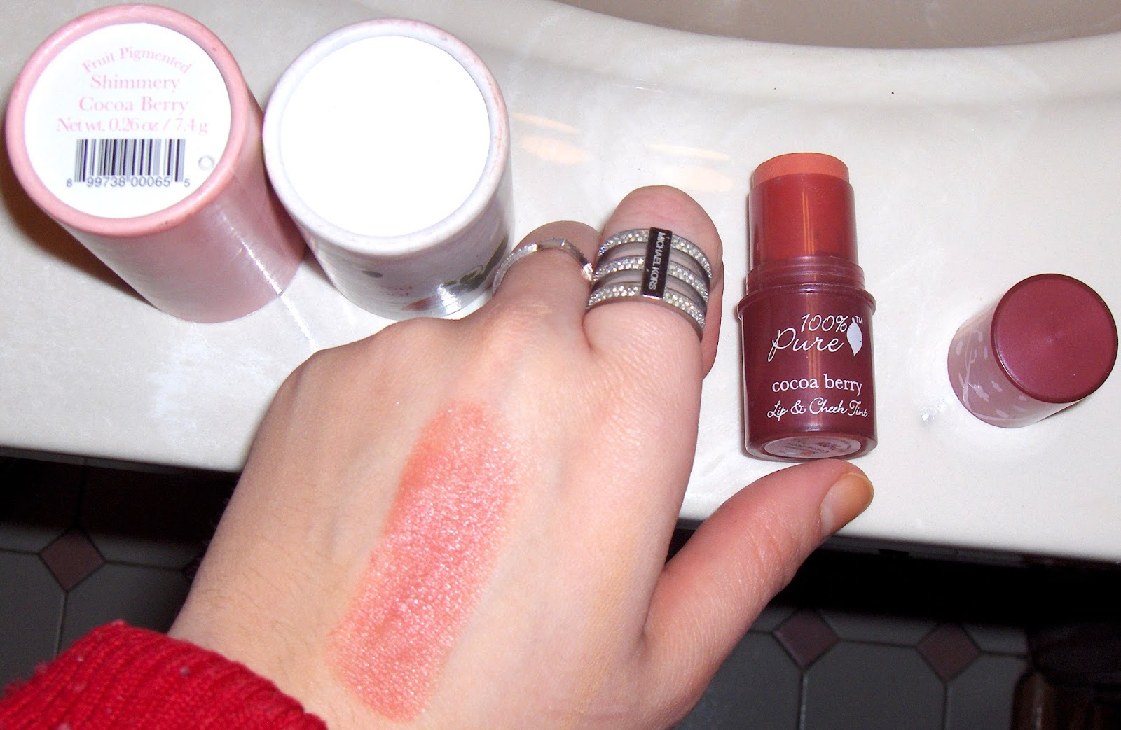 Fruit Pigmented Lip & Cheek Tint by 100% pure #7