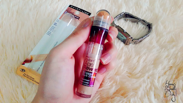 Review; Maybelline's Instant Age Rewind 120 Light/Pale