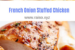 French Onion Stuffed Chicken