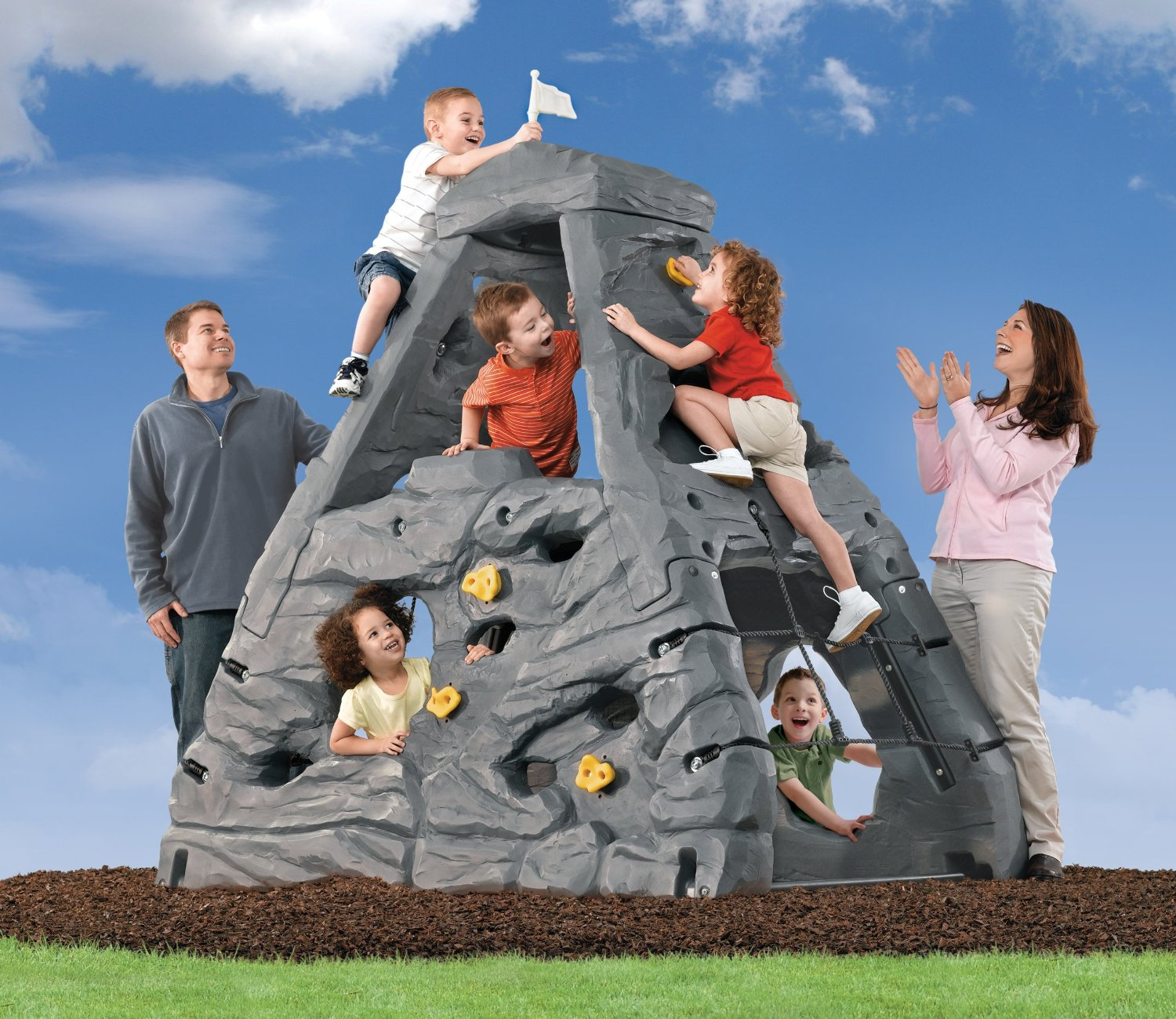 Total Fab Outdoor & Indoor Climbing Toys for Kids and Toddlers
