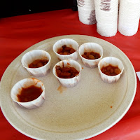 Chili Challenge Samples at Chilifest at Mike's Maze New England Fall Events