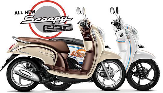 Gambar Harga Honda Scoopy eSP