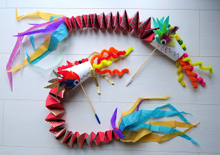 Chinese dragon toy