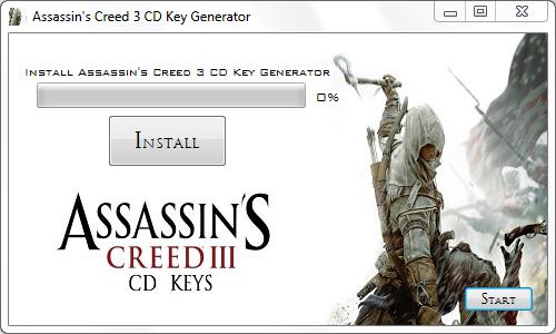 Assassin S Creed 3 Cd Key