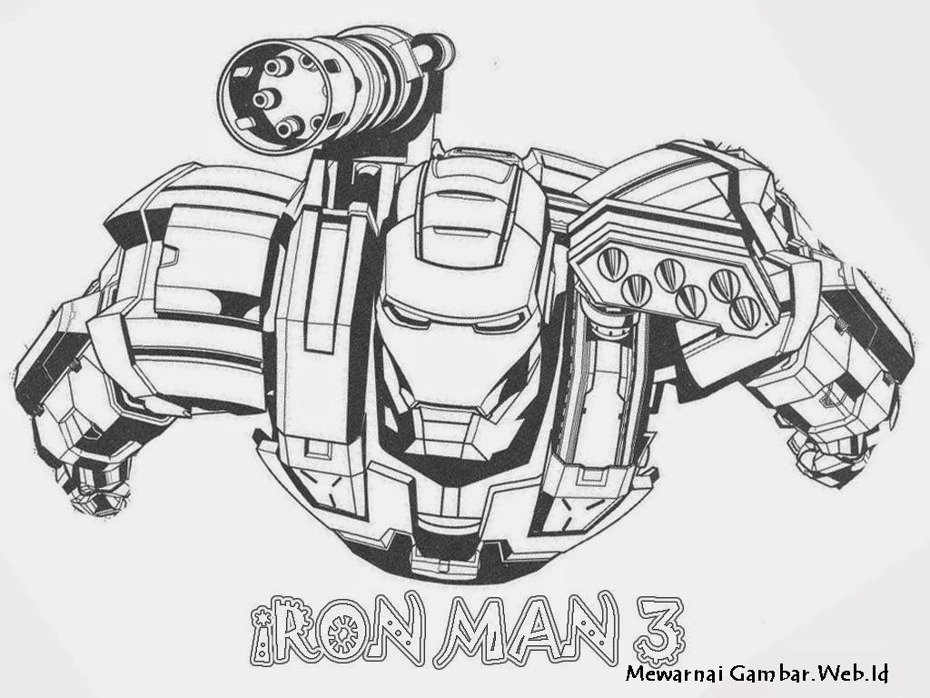 Iron Man Mewarnai Mewarnai M
