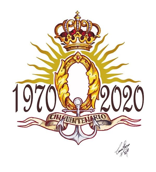 Logotipo 50ºAniversario de la Bendición de María Stma. De la O