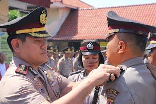 Kapolres Cirebon  Kota Pimpin Sertijab  Kapolsek Kapetakan,Kapolsek KPC Dan Kasat Sabhara