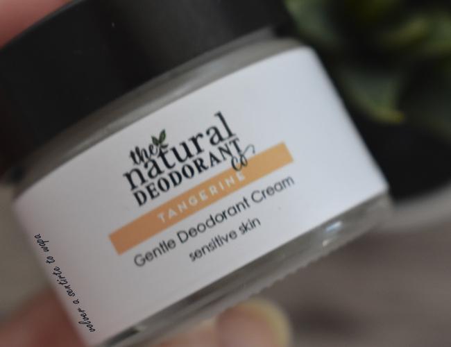Desodorante natural y vegano para piel sensible