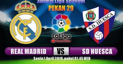 اون لاين مشاهدة مباراة ريال مدريد وهويسكا بث مباشر 31-3-2019 الدوري الاسباني اليوم بدون تقطيع