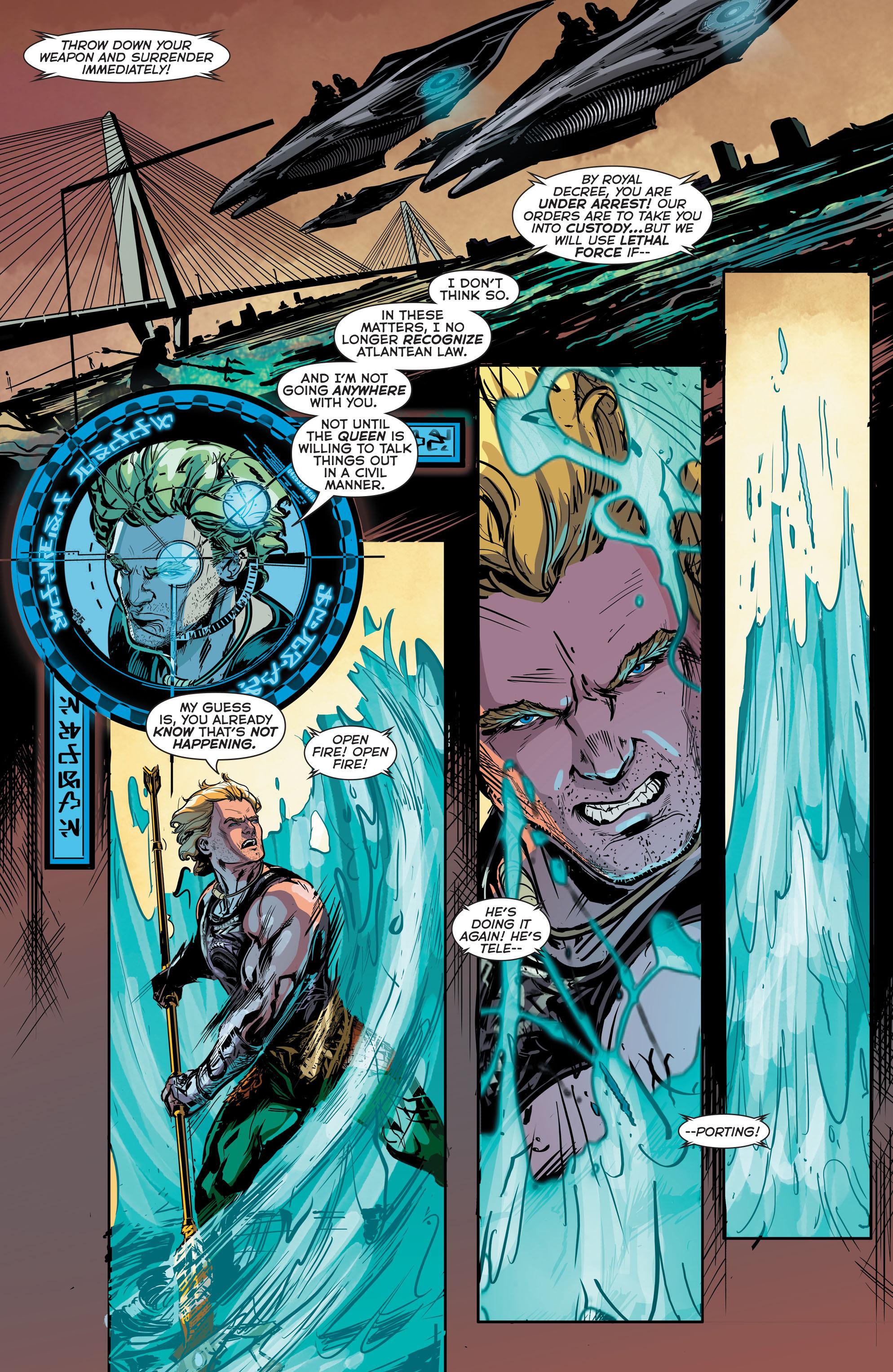 Read online Aquaman (2011) comic -  Issue #41 - 18