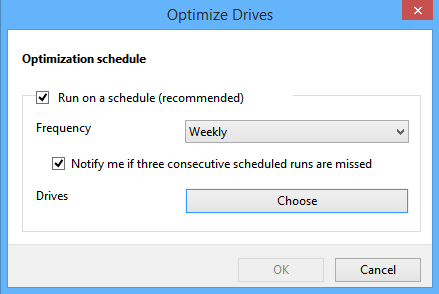 How to Optimize Drives Automatically