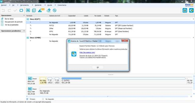 EASEUS Partition Master 12.5 Pro Full