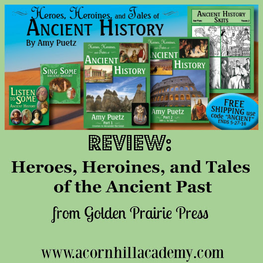 REVIEW: Heroes, Heroines, and Tales of the Ancient Past