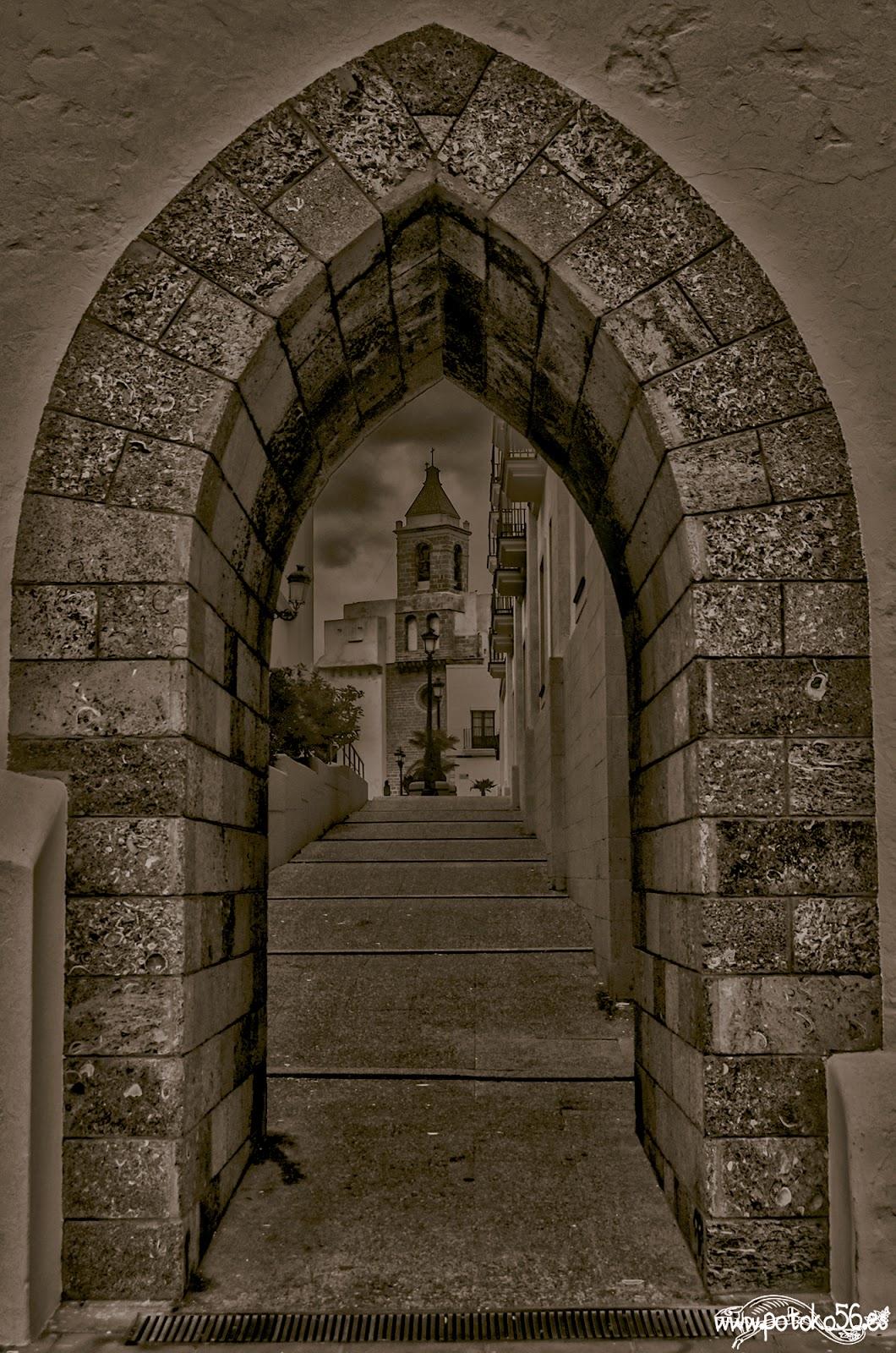 fotografiando Rota una puerta que da a la fantasía