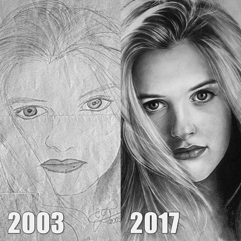 01-Alicia-Silverstone-2003-vs-2017-Eduardo-Calil-Celebrity-Portrait-Drawings-Color-and-Black-and-White-www-designstack-co