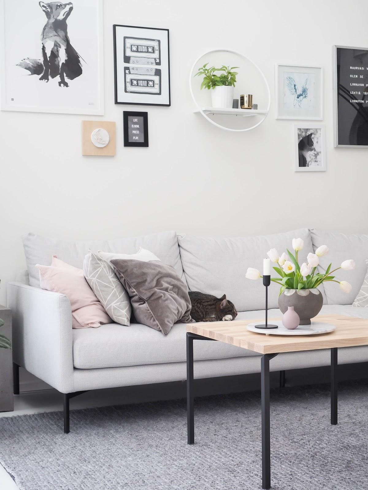 olohuone, sohvapöytä, diy, Adea