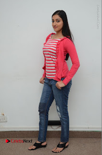 Telugu Actress Mouryani Latest Pos in Blue Denim Jeans  0217.JPG