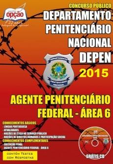Apostila DEPEN Agente Penitenciário Federal - Área 6