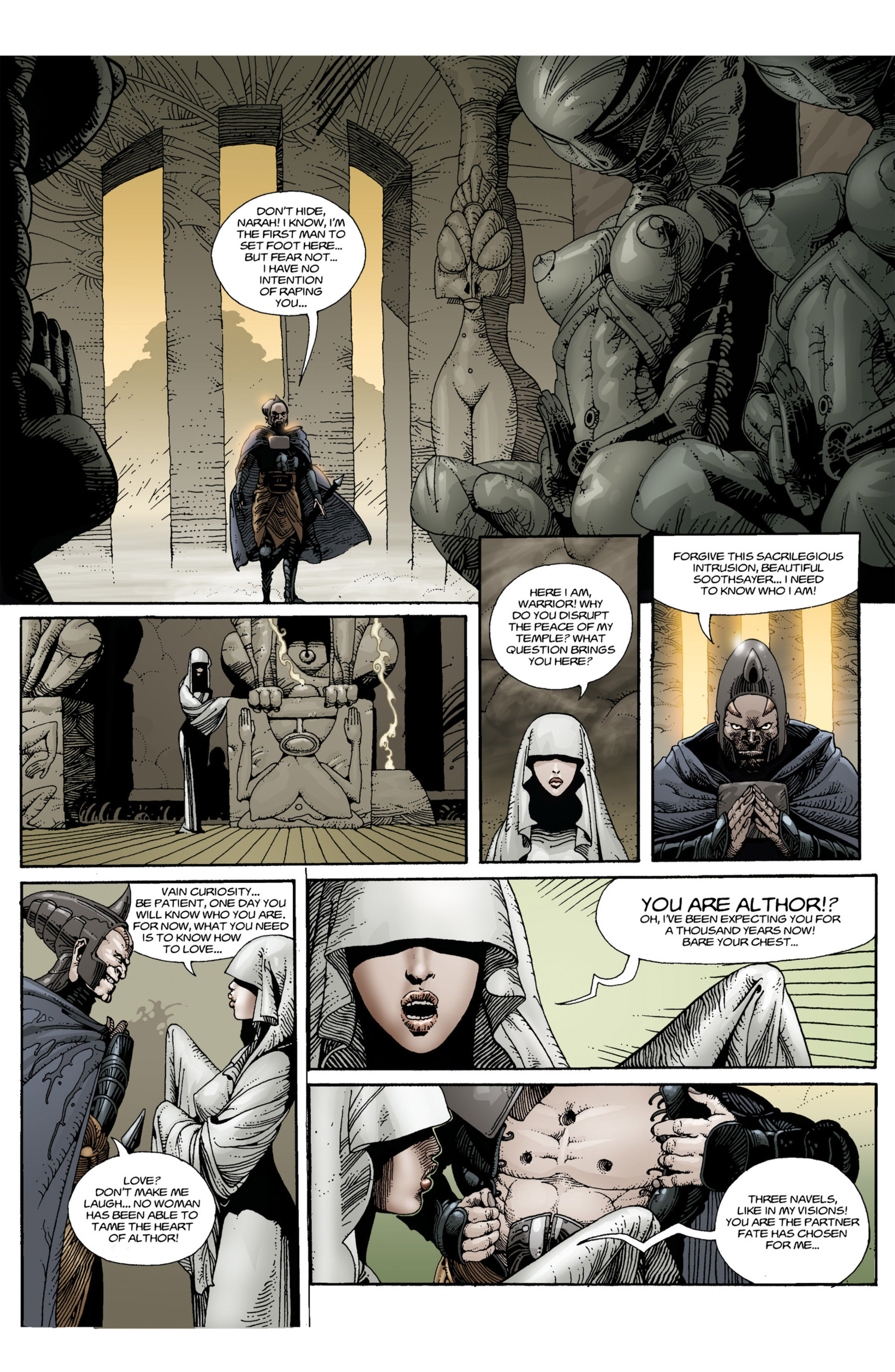 Read online Alejandro Jodorowsky's Screaming Planet comic -  Issue #1 - 15