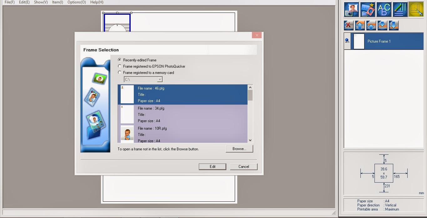 Software atau Aplikasi Simple Pencetak Foto