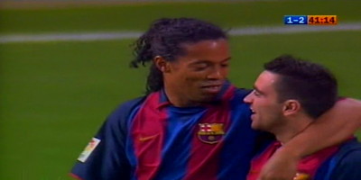 Classic LFP-Week-34 : Real Madrid 1 vs 2 Barcelona 25-04-2004