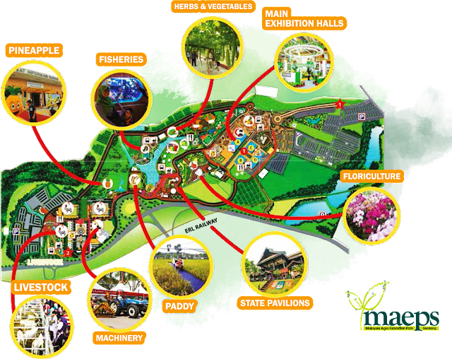Layout Map To MAHA 2016
