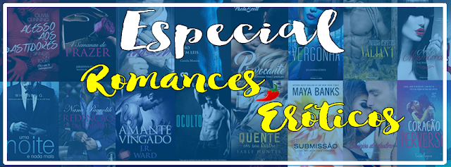 Sorteios: #EspecialRomancesEróticos