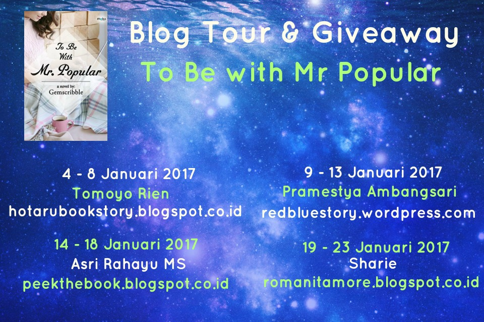 Blogtour & Giveaway To Be with Mr. Popular
