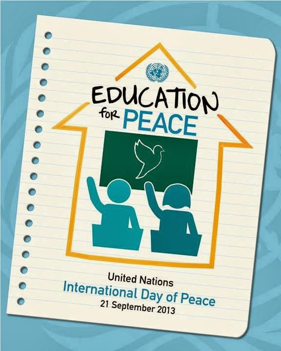 """Education for Peace!"""" Celebrating the International Day of"""