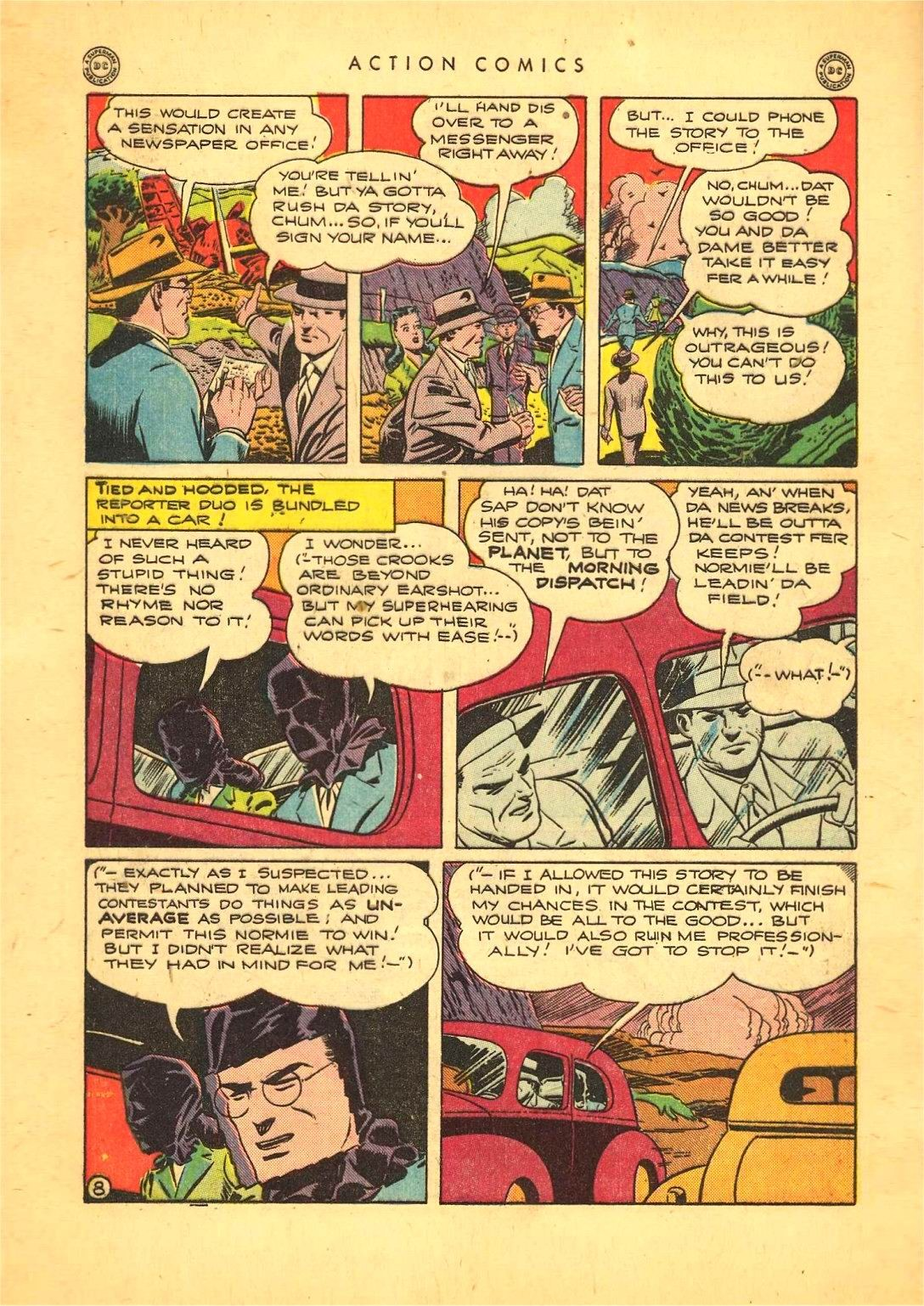 Read online Action Comics (1938) comic -  Issue #92 - 10