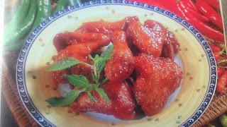 Resep memasak ayam goreng pedas lengkap serta caranya