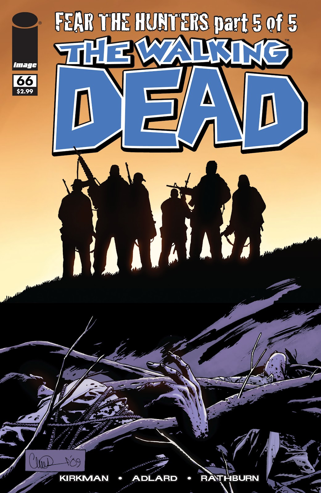 The Walking Dead issue 66 - Page 1