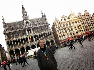 Maison du Roi and Grand Place in Brussels