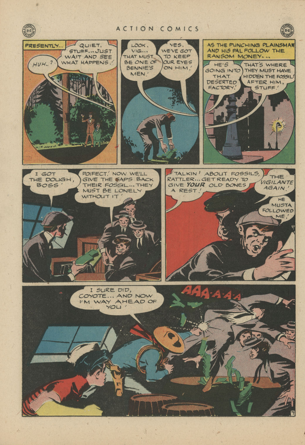 Read online Action Comics (1938) comic -  Issue #83 - 37