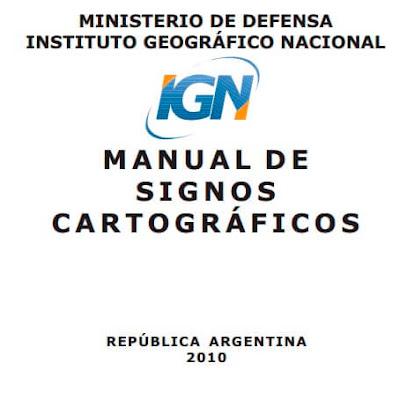 Manual de signos cartograficos - Ingenieria