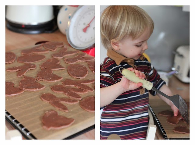 toddler baking