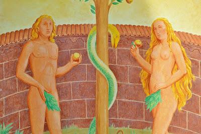 アダムとイブ りんご2