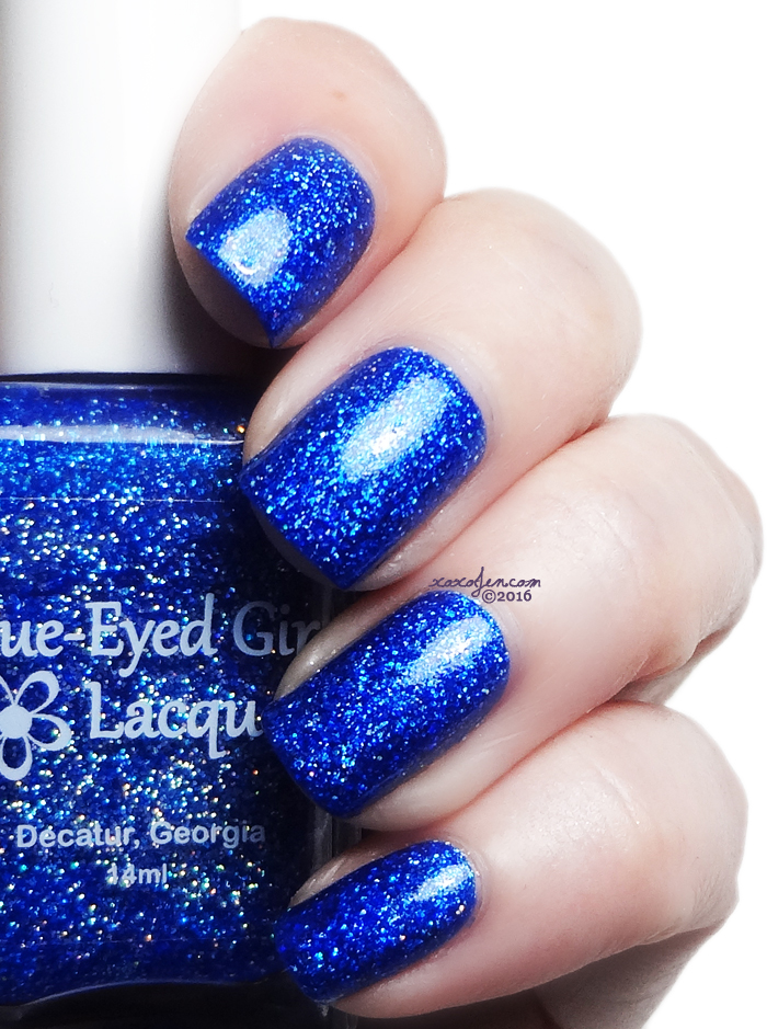 xoxoJen's swatch of Blue-eyed Girl Deep Blue Dream